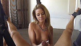 Beautiful Jessa Rhodes. POV sex
