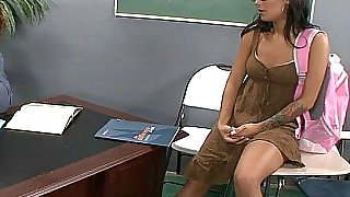 Please help me Professor, lick and fuck me
