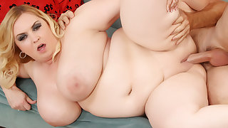 Huge Natural Boobed girl is fucked