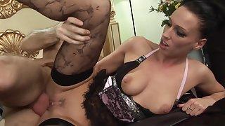 Amazing pornstar Tammie Lee in crazy brazilian, lingerie xxx clip