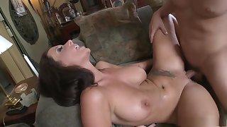 Best pornstar Jayden Jaymes in crazy big tits, brunette porn scene