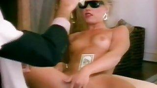 Horny pornstars Julia Parton, Ashley Lauren and Krystina King in exotic threesomes, lesbian xxx scene