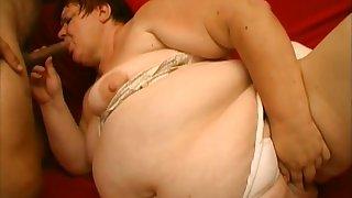 Amazing pornstar in horny bbw, redhead sex scene