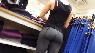 shopping leggings