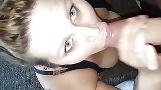 Whore licks dirty ass clean for cash