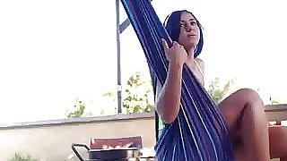 Do you want me to do nude daring on roof? - Desi slut Divya