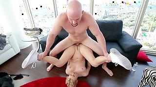 Natalia Starr meets large dick in hardcore scenes