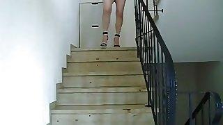 hure im treppenhaus