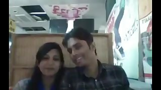 Bangladeshi boyfriend and girlfriend in restaurant (1)